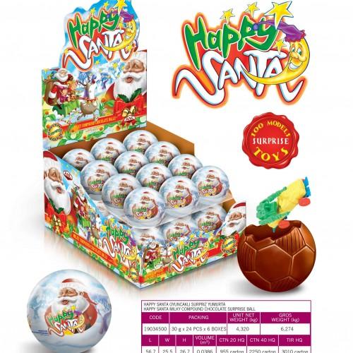 HAPPY SANTA 34 GR SURPRISE BALL